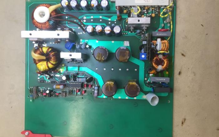 Strømforsyning til gasturbine