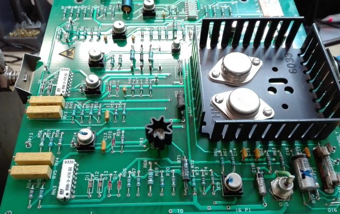 Gasturbine aktuator - PSU PCB