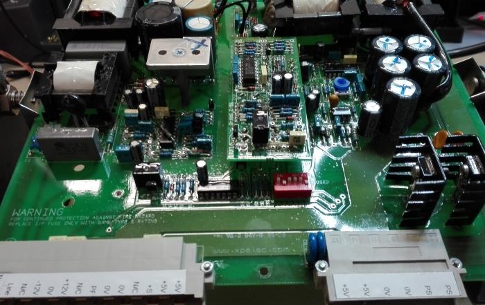 Styring af gasturbine - PSU PCB