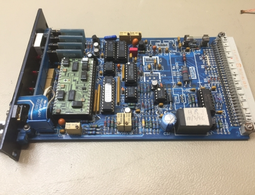 Gas detection control PCB
