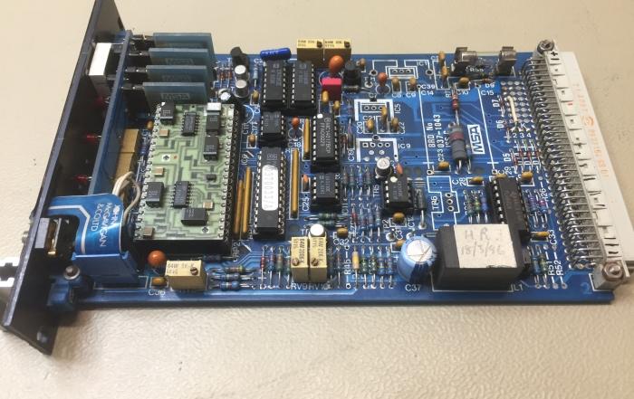 Gasdetektionskontrol PCB