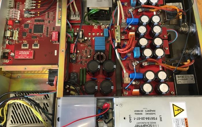 Strømforsyning til laserskærer